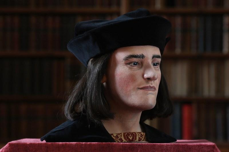 Лондон, Англия, 5 февраля. Так выглядит лицо короля Ричарда III, которое реконструировали учёные на основе черепа, найденного в ходе раскопок. Фото: Dan Kitwood/Getty Images