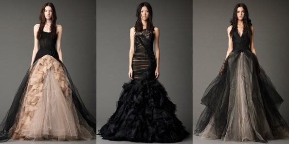 Свадебные платья от Веры Вонг. Фото: fashionbride.wordpress.com