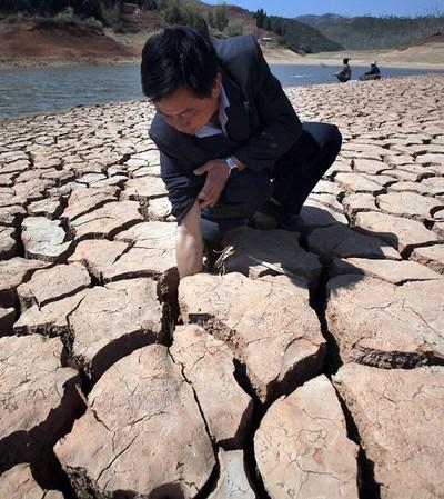 Засуха в Китае. 2010 год. Фото: AFP