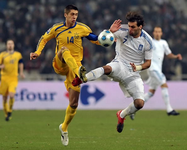 Греция - Украина фото:ARIS MESSINIS,LOUISA GOULIAMAKI /Getty Images Sport