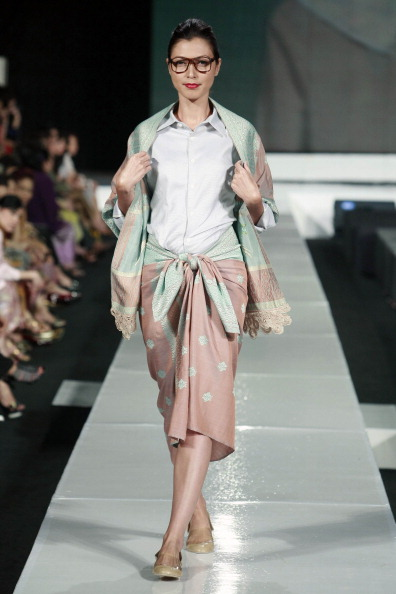 Презентация коллекции Auguste Soesastro на Неделе моды в Джакарте. Фото Ulet Ifansasti/Getty Images for Jakarta Fashion Week