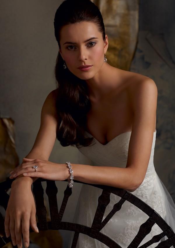 Коллекция свадебных платьев от Mori Lee. Фото: fashionbride.wordpress.com