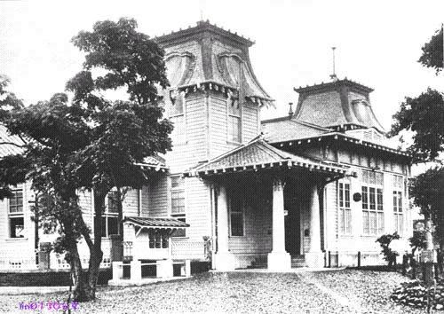 Здание почты из бамбука. Тайвань в период правления Японии (1895-1945 гг.)