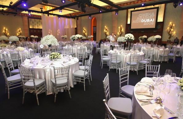 Зал ресторанного комплекса отеля Атлантис во время проведения 5-го ежегодного международного кинофестиваля в Дубаи. Фото: Andrew H. Walker / Getty Images