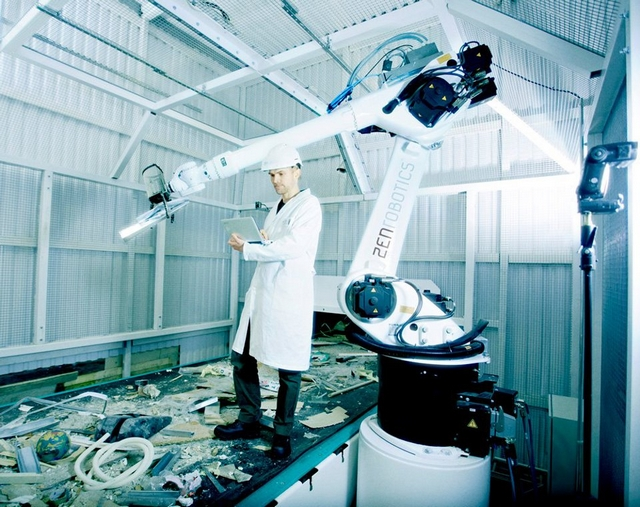 Сортировка мусора конвейер робот моторное масло для фольксваген транспортер