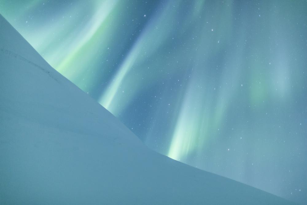 «Silk Skies». Переможець у номінації «Aurorae». Фото: Jamen Percy/Royal Observatory Greenwich