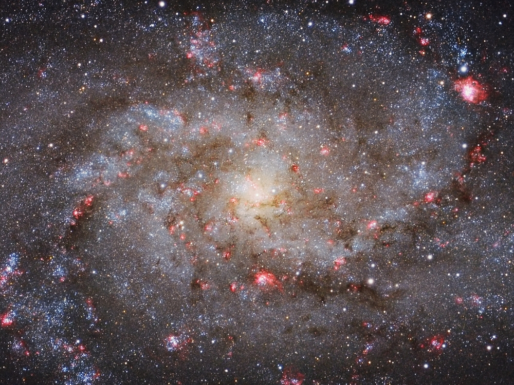 «M33 Core». Победитель в номинации «Galaxies». Фото: Michael van Doorn/Royal Observatory Greenwich