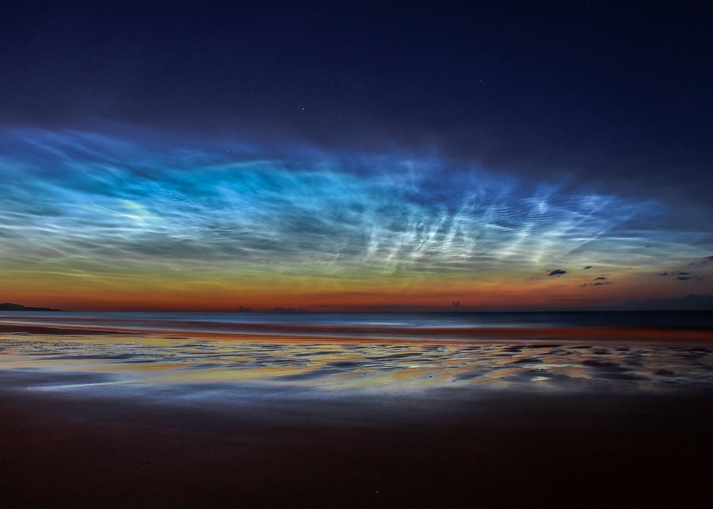 «Sunderland Noctilucent Cloud Display». Друге місце в номінації «Skyscapes». Фото: Matt Robinson/Royal Observatory Greenwich
