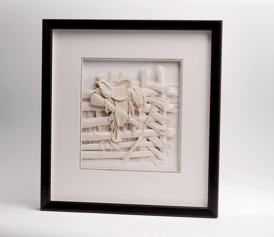 Фото: facebook.com/Calvin-Nicholls-Paper-Sculpture