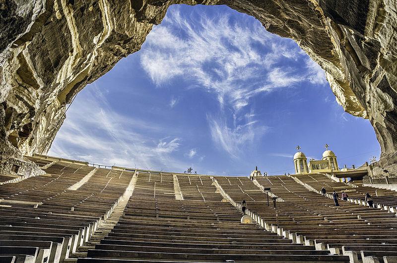 15место. Монастырь Святого Симеона Кожумяки в Каире, Египет. Автор фото — Hoba offendum, CC-BY-SA-4.0