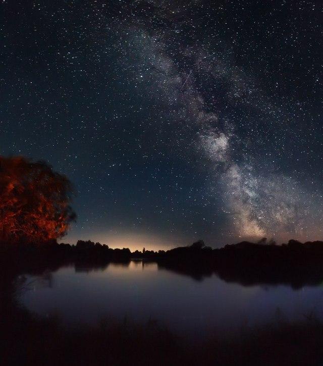 Ночь над Березиной. Осень. Фото: Алексей Угальников, vk.com/albums3554740