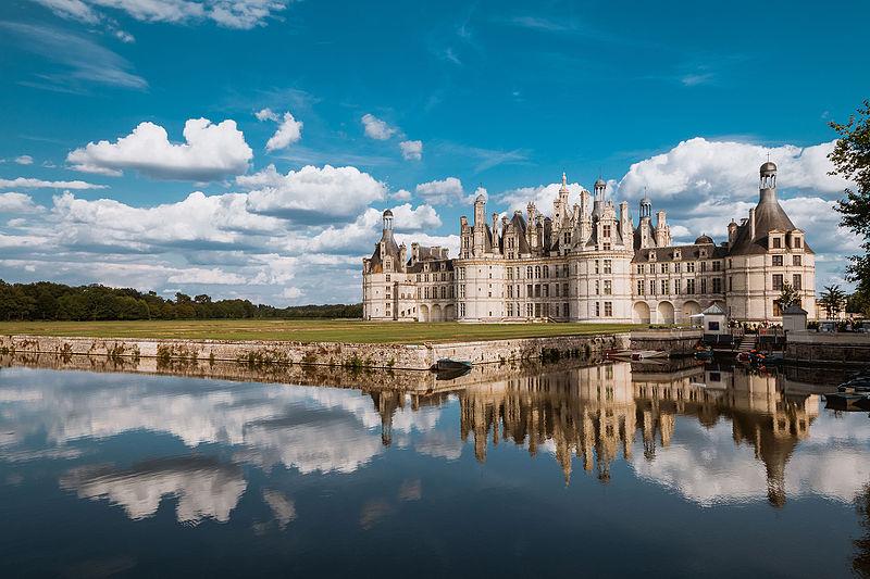 6место. Замок Шамбор, департамент Луар-и-Шер, Франция. Автор фото — Arnaud Scherer, лицензия CC-BY-SA-4.0