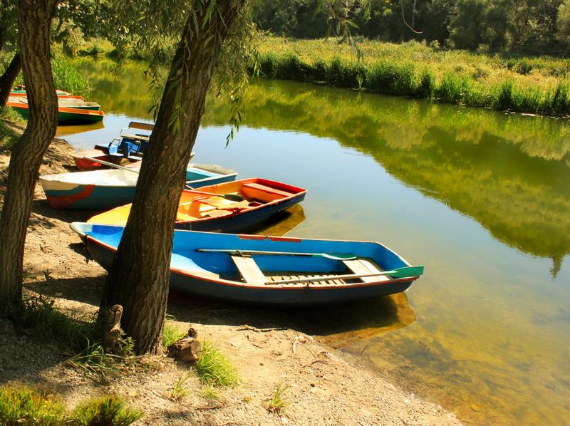 Пристань для човнів. Фото: Валерія Мірошко