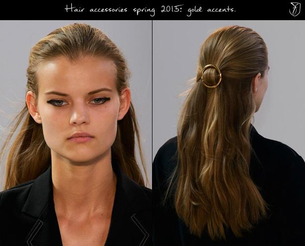 Золотые акценты Celine в работах Гвидо Палау. Фото: fashionising.com