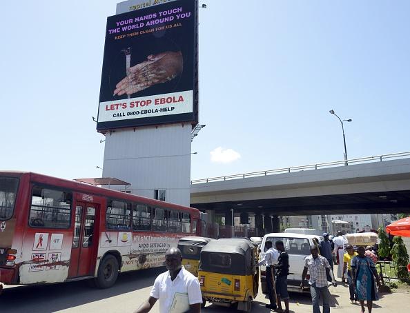 Социальная реклама в Нигерии. Фото: PIUS UTOMI EKPEI/AFP/Getty Images