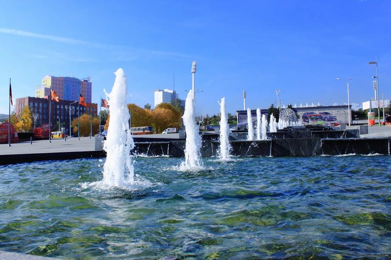 Осінній день у місті. Фото: Ірина Рудська