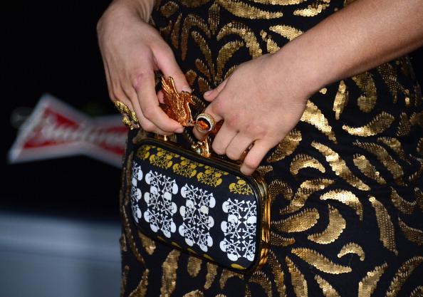 Модные вечерние сумки. Фото: Frazer Harrison/Getty Images