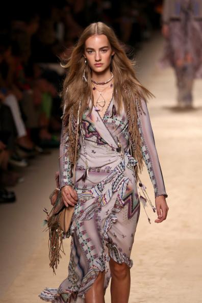 Шоу Etro на міланському Тижні моди. Фото: Vincenzo Lombardo/Getty Images