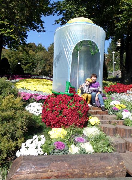 Виставка хризантем проходить в Києві. Фото: Оксана Богомаз/Велика Епоха
