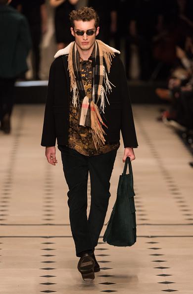 Лондонське шоу чоловічої моди бренду Burberry. Фото: Ian Gavan/Getty Images
