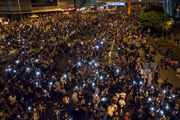 Гонконг, 30 вересня 2014 року. Фото: Paula Bronstein/Getty Images