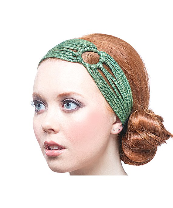 Повязка для волос JAHANNA MARTINEZ. Фото: bluefly.com