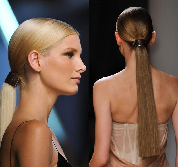 Золотые заколки. Фото: fashionising.com