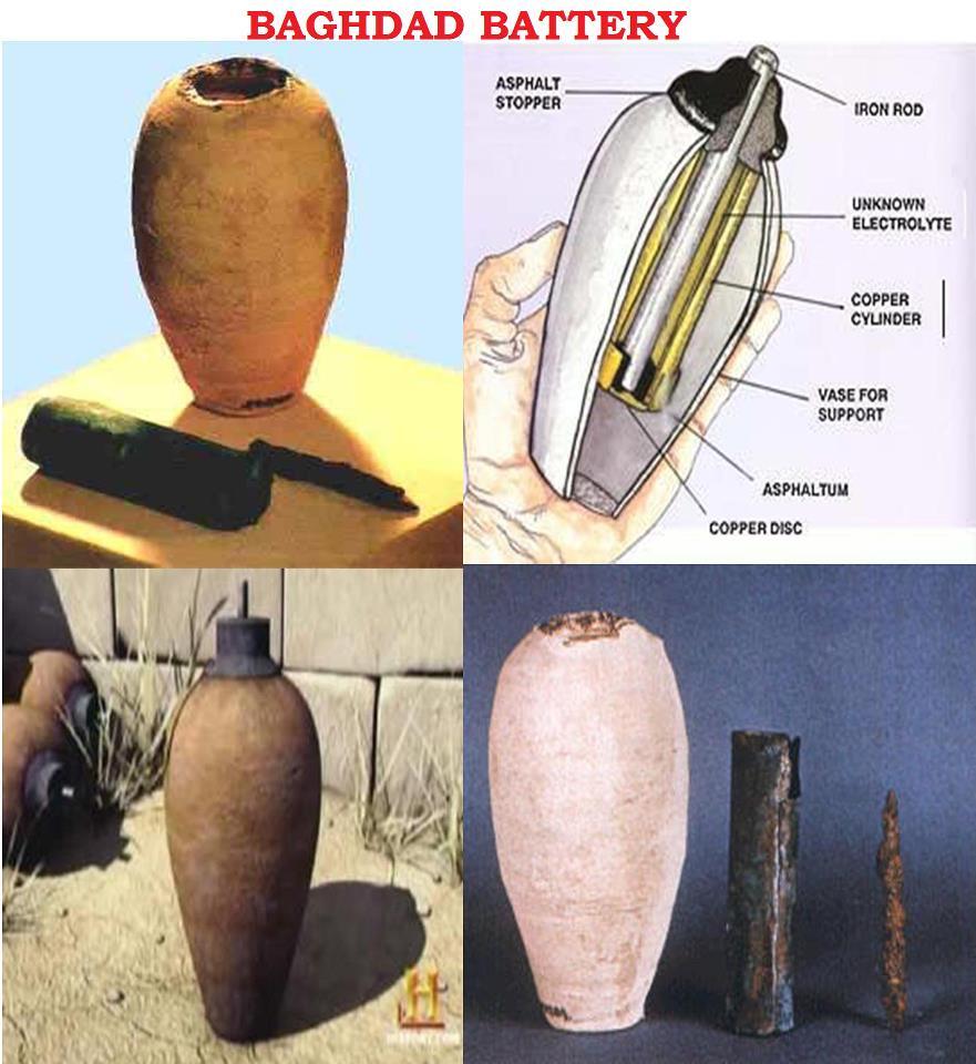 Реконструкция багдадской батарейки. Иллюстрация: transmissionsmedia.com