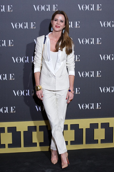 Стильні образи. Вибір гостей на церемонії нагородження «Vogue Joyas» 2013. Фото: Carlos Alvarez/Getty Images
