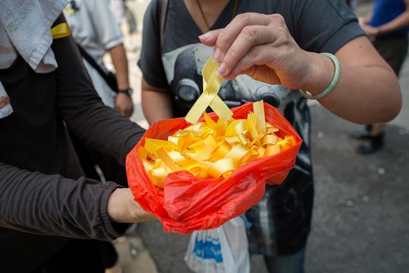 Гонконг, 30 сентября 2014 г. Фото: Jerome Favre/Bloomberg via Getty Images