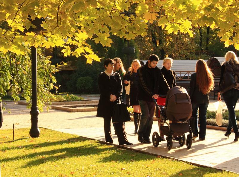 Осенний день в городе. Фото: Ирина Рудская/Великая Эпоха