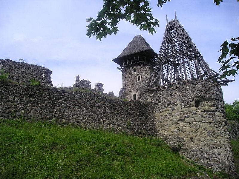 Невицький замок. Фото: Plf16 / uk.wikipedia.org. Ліцензія: creativecommons.org/licenses/by-sa/3.0