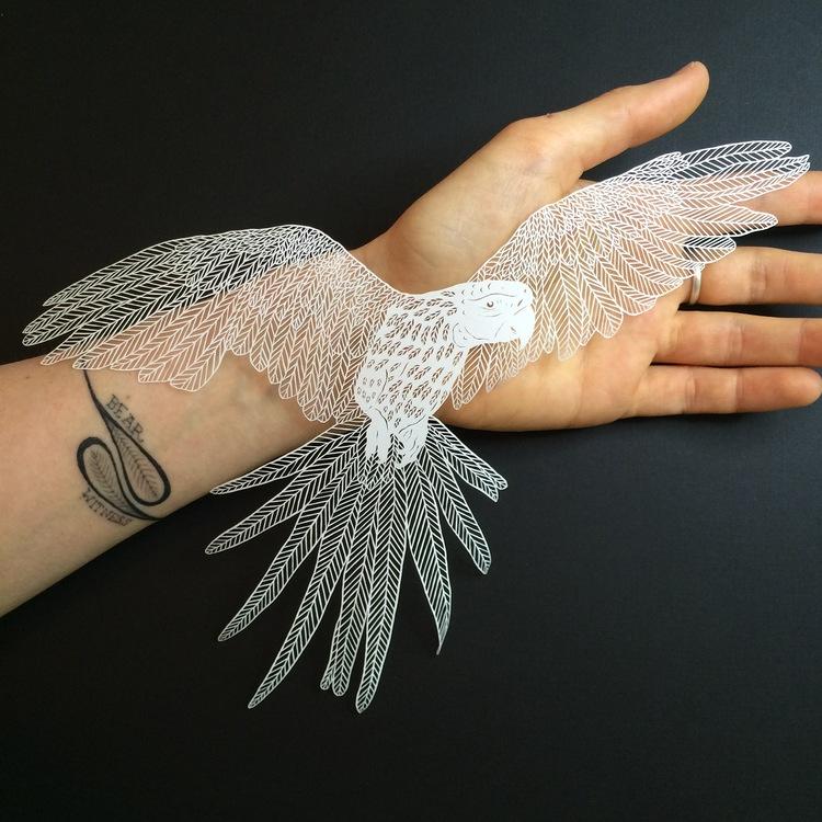 Фото: bravebirdpaperart.com