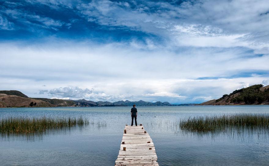 Озеро Титикака. Фото: boredpanda.com