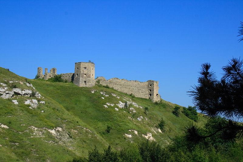 Кудринецький замок. Фото: Bumbaka/uk.wikipedia.org. Ліцензія: суспільне надбання (Public Domain)