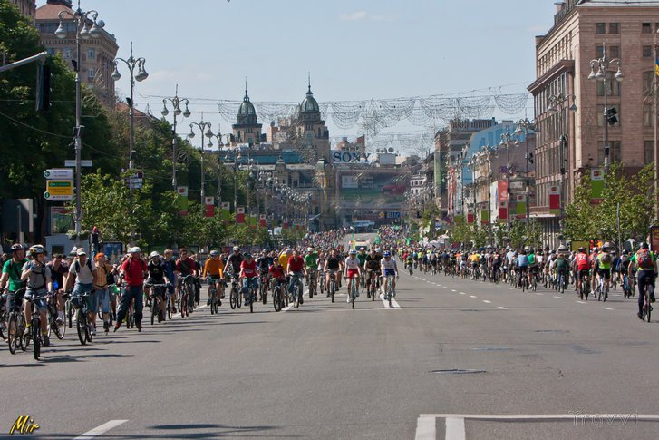 Велодень у Києві, 2012 р. Архівне фото: bikeday.org.ua