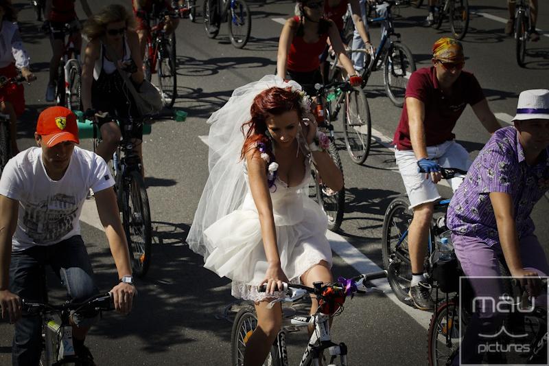 Велодень в Киеве, 2012 г. Архивное фото: bikeday.org.ua