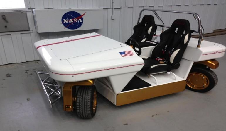 Електромобіль MRV. Фото: NASA