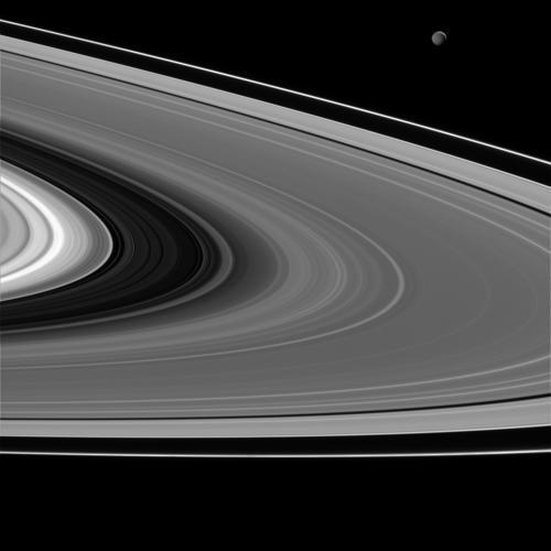 Кільця Сатурна. Фото: nasa.gov