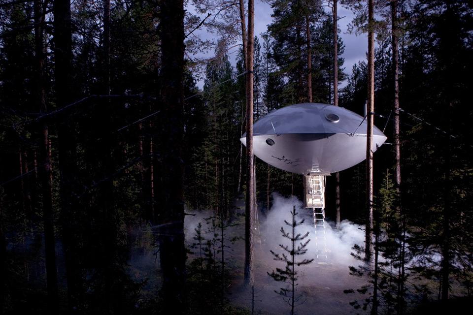 Мечта детей «НЛО». Фото: treehotel.se