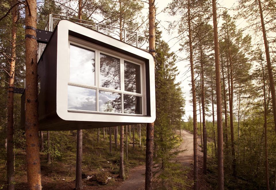 Сауна на дереве. Фото: treehotel.se