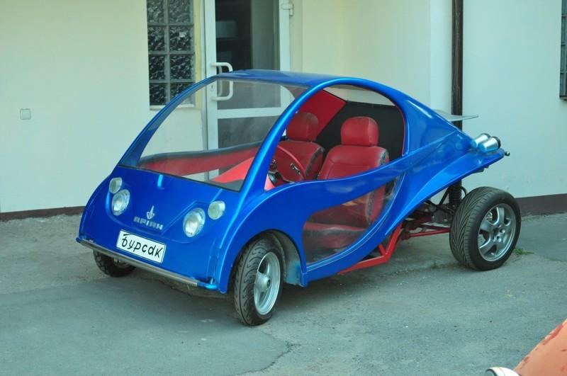 Машины, изобретённые и сконструированные Эдуардом Рудиком. Фото: avtopogliad.com.ua