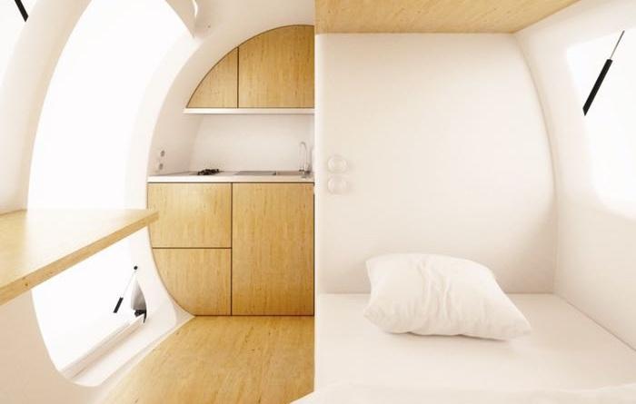 Экологичный дом-капсула. Фото: ecocapsule.sk