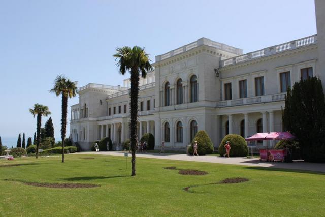 Лівадійський палац-музей. Фото: facebook.com/7-чудес-України