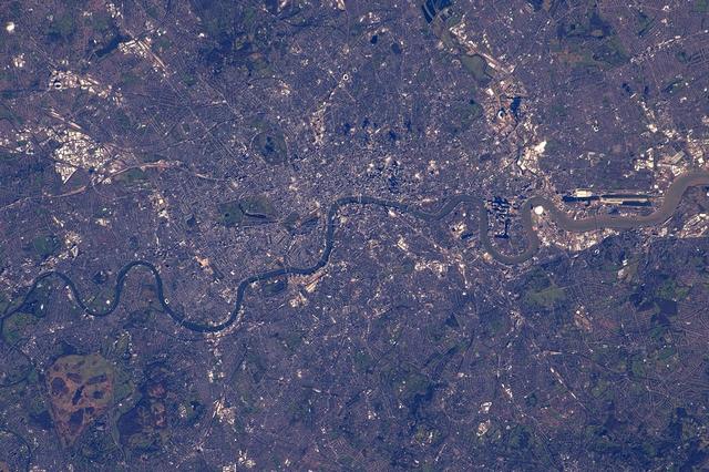 Лондон. Фото: Tim Peake/ESA/NASA