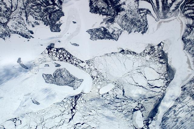 Затока Джеймс, Канада. Фото: Tim Peake/ESA/NASA