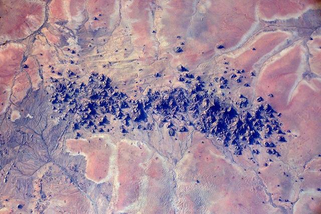 Судан. Фото: Tim Peake/ESA/NASA
