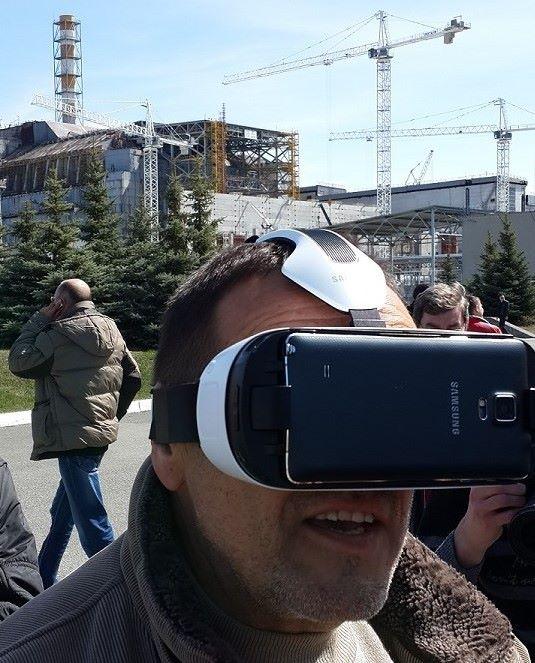 Скоро каждый сможет попасть внутрь Чернобыльской станции в виртуальной реальности, не опасаясь радиации. Фото: facebook.com/chernobyl360VR