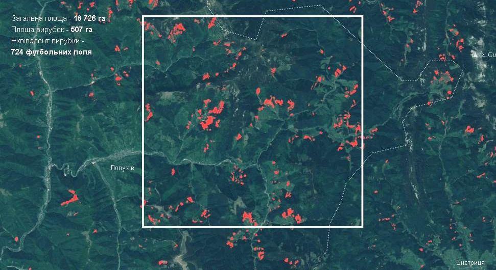 Скриншот страницы: texty.org.ua/d/deforestation