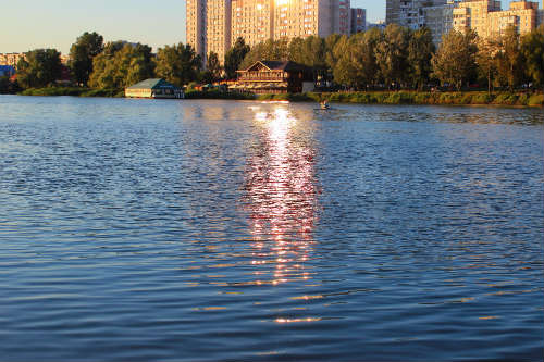 Озеро до забруднення. Фото: babushkababunya.com